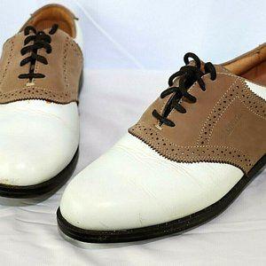 Ashworth Mens Kingston Leather Golf Shoes